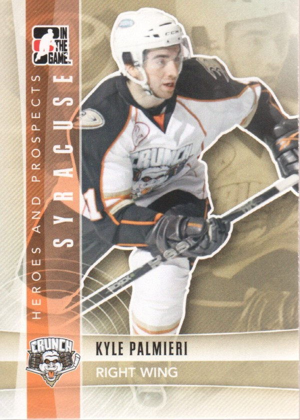 2011-12 ITG Heroes and Prospects #122 Kyle Palmieri AP