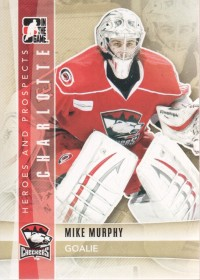 2011-12 ITG Heroes and Prospects #127 Mike Murphy AP front image