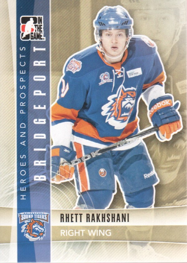2011-12 ITG Heroes and Prospects #129 Rhett Rakhshani AP