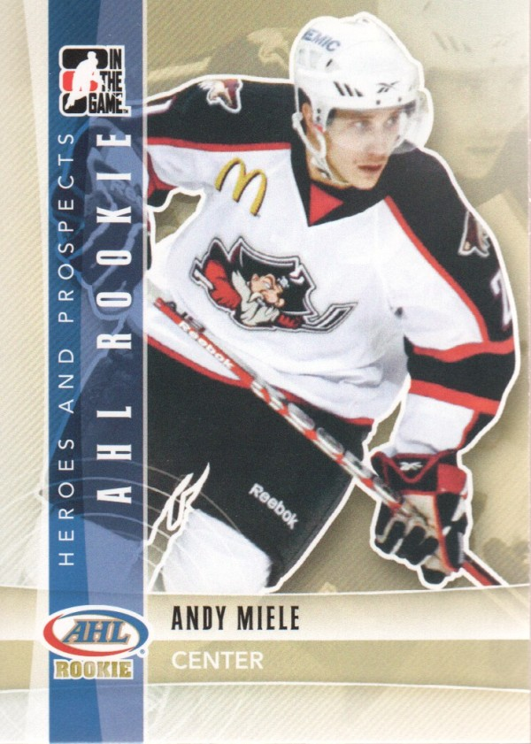 2011-12 ITG Heroes and Prospects #135 Andy Miele AR
