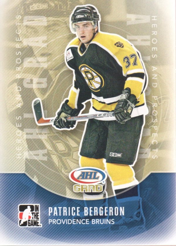 2011-12 ITG Heroes and Prospects #152 Patrice Bergeron AG
