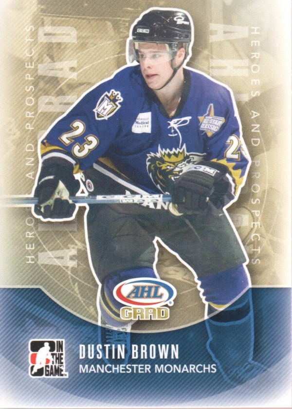 2011-12 ITG Heroes and Prospects #154 Dustin Brown AG