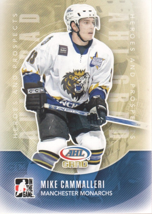 2011-12 ITG Heroes and Prospects #155 Mike Cammalleri AG