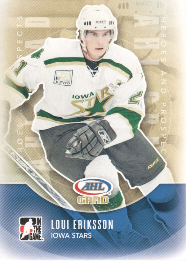 2011-12 ITG Heroes and Prospects #156 Loui Eriksson AG