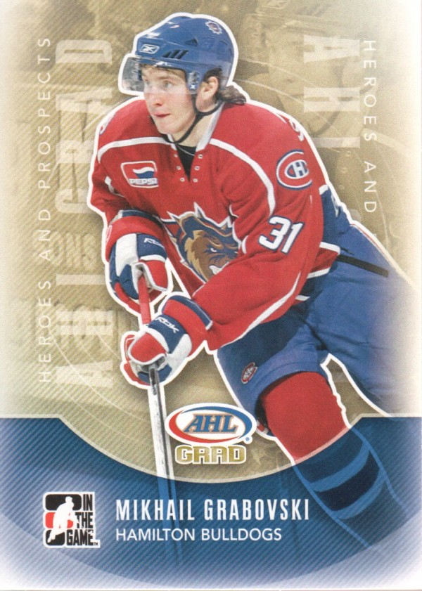 2011-12 ITG Heroes and Prospects #159 Mikhail Grabovski AG