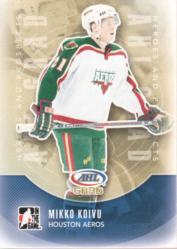 2011-12 ITG Heroes and Prospects #163 Mikko Koivu AG