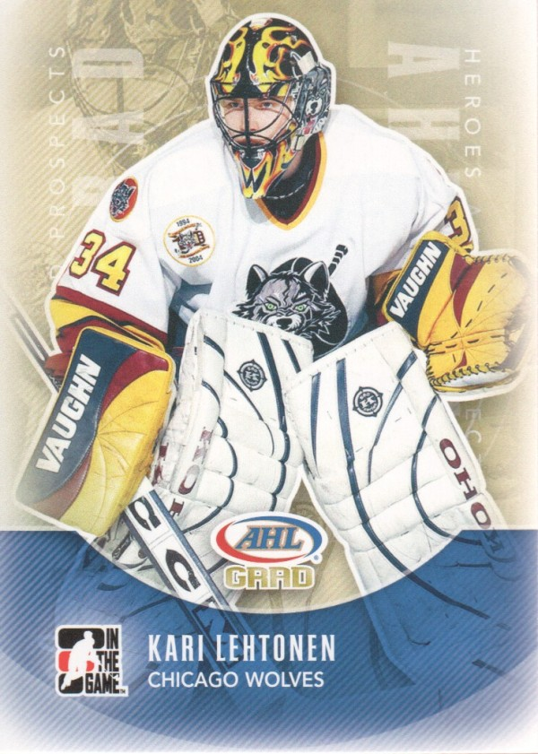 2011-12 ITG Heroes and Prospects #164 Kari Lehtonen AG