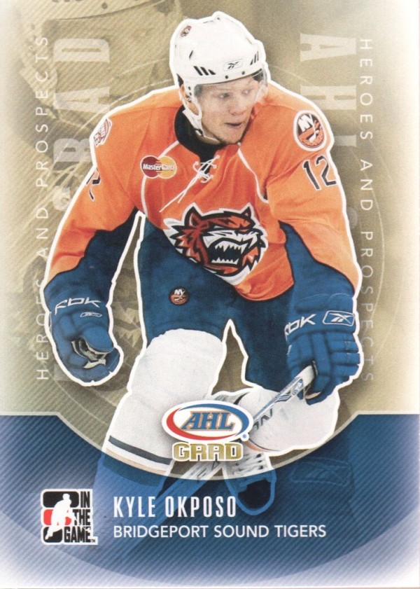 2011-12 ITG Heroes and Prospects #166 Kyle Okposo AG