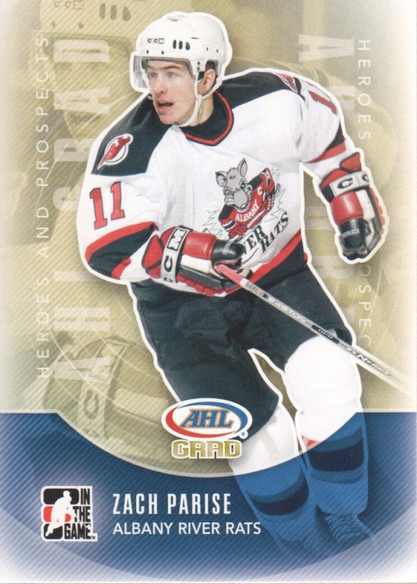 2011-12 ITG Heroes and Prospects #167 Zach Parise AG