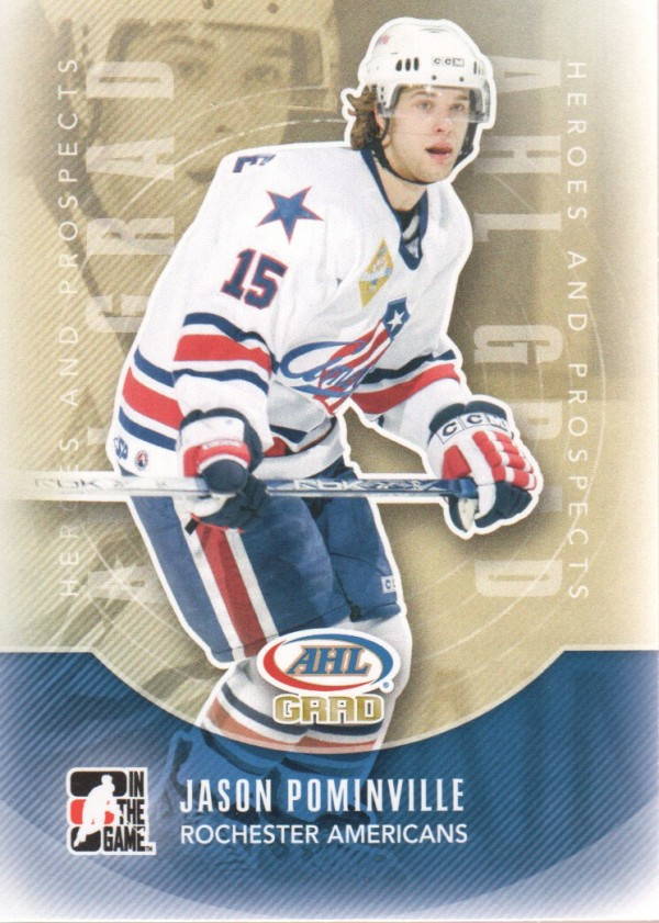 2011-12 ITG Heroes and Prospects #168 Jason Pominville AG