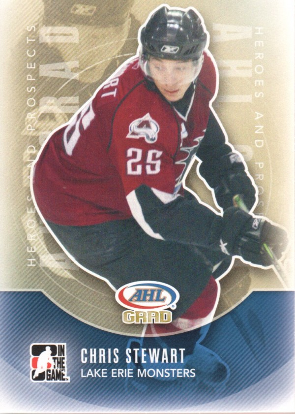 2011-12 ITG Heroes and Prospects #170 Chris Stewart AG