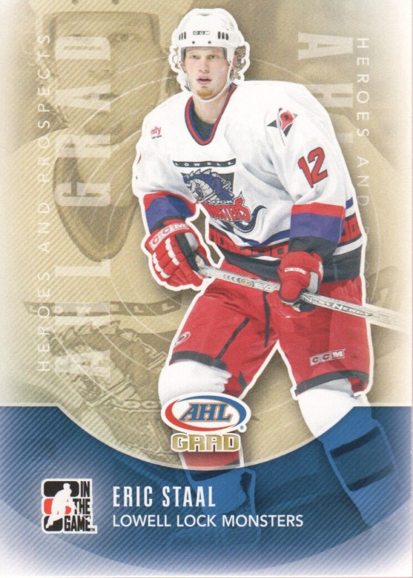 2011-12 ITG Heroes and Prospects #172 Eric Staal AG