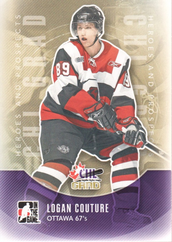 2011-12 ITG Heroes and Prospects #179 Logan Couture CG