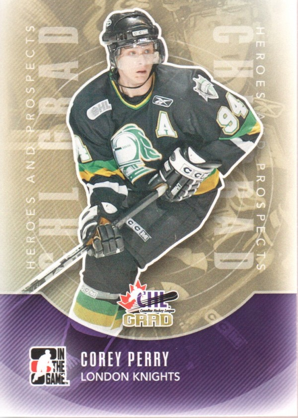 2011-12 ITG Heroes and Prospects #187 Corey Perry CG