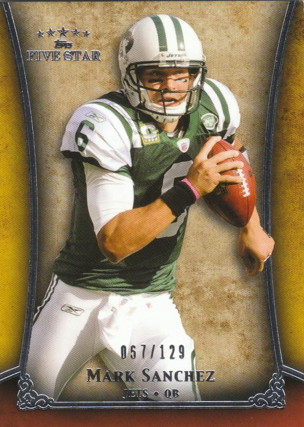 2011 Topps Five Star #81 Mark Sanchez
