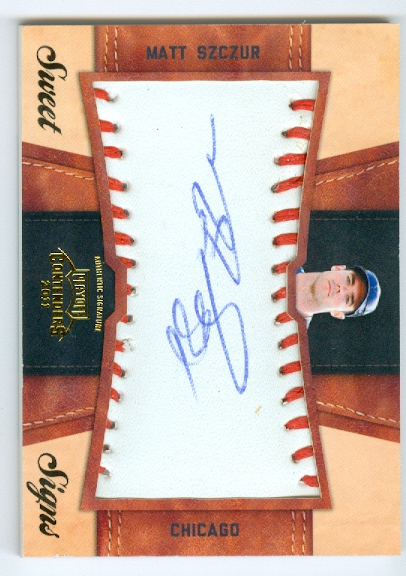 2011 Playoff Contenders Sweet Signs Autographs #48 Matt Szczur/99