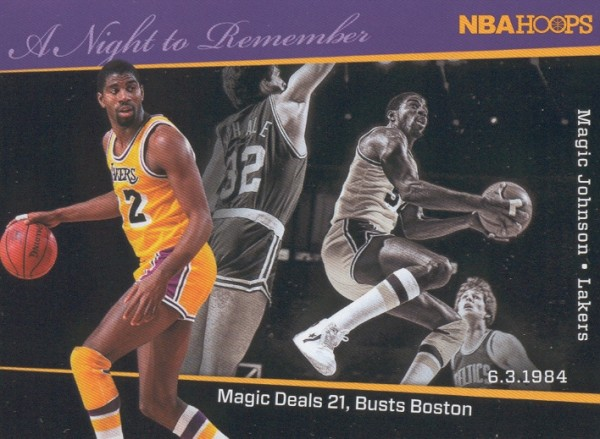 2011-12 Hoops A Night to Remember #3 Magic Johnson