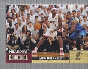 2011-12 Hoops Courtside #2 LeBron James