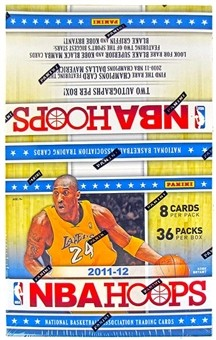 2011-12 Hoops Basketball Hobby Box