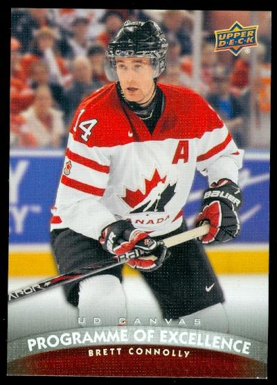2011-12 Upper Deck Canvas #C257 Brett Connolly POE