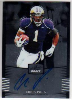 2012 Leaf Metal Draft #CP1 Chris Polk