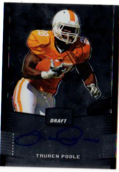 2012 Leaf Metal Draft #TP1 Tauren Poole