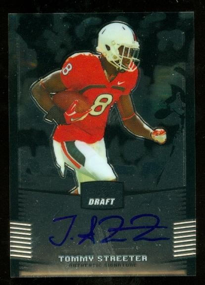 2012 Leaf Metal Draft #TS1 Tommy Streeter