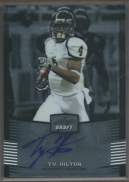 2012 Leaf Metal Draft #TYH T.Y. Hilton