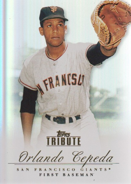 2012 Topps Tribute #20 Orlando Cepeda