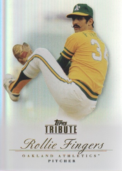 2012 Topps Tribute #26 Rollie Fingers