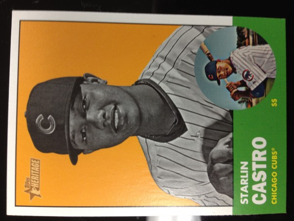 2012 Topps Heritage #193B Starlin Castro BW SP