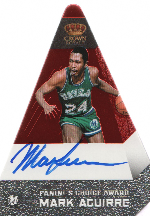 2011-12 Panini Preferred #170 Mark Aguirre PC/74 AU