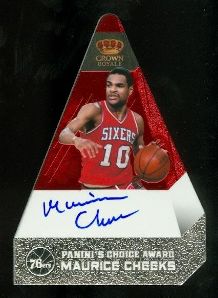 2011-12 Panini Preferred #173 Maurice Cheeks PC/74 AU