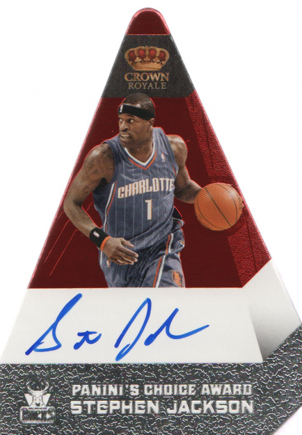 2011-12 Panini Preferred #189 Stephen Jackson PC/74 AU