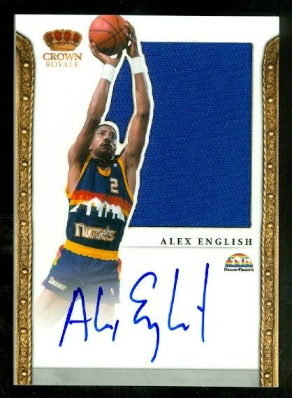 2011-12 Panini Preferred #203 Alex English SL/49 JSY AU