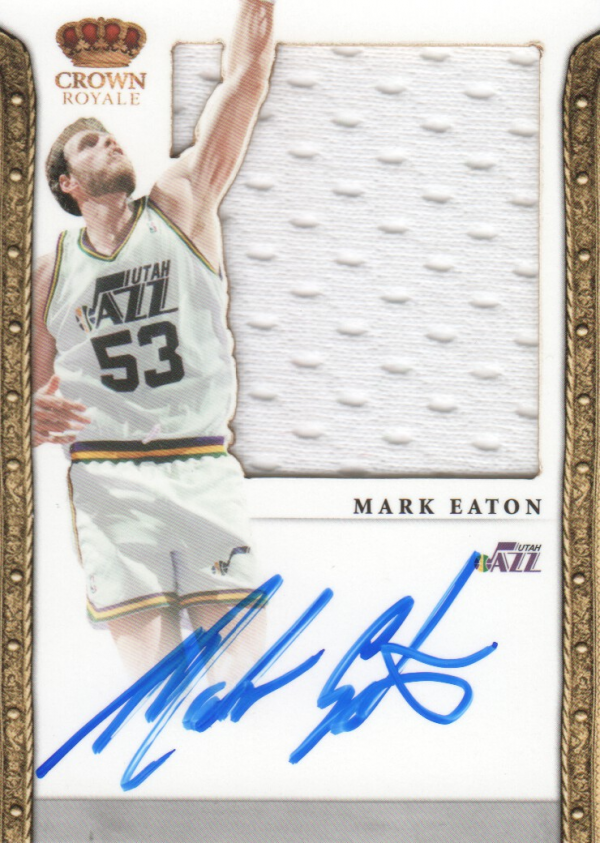 2011-12 Panini Preferred #239 Mark Eaton SL/99 JSY AU