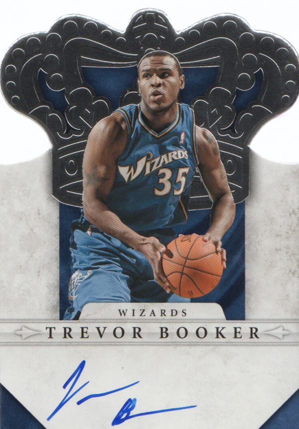2011-12 Panini Preferred #266 Trevor Booker CR/99 AU