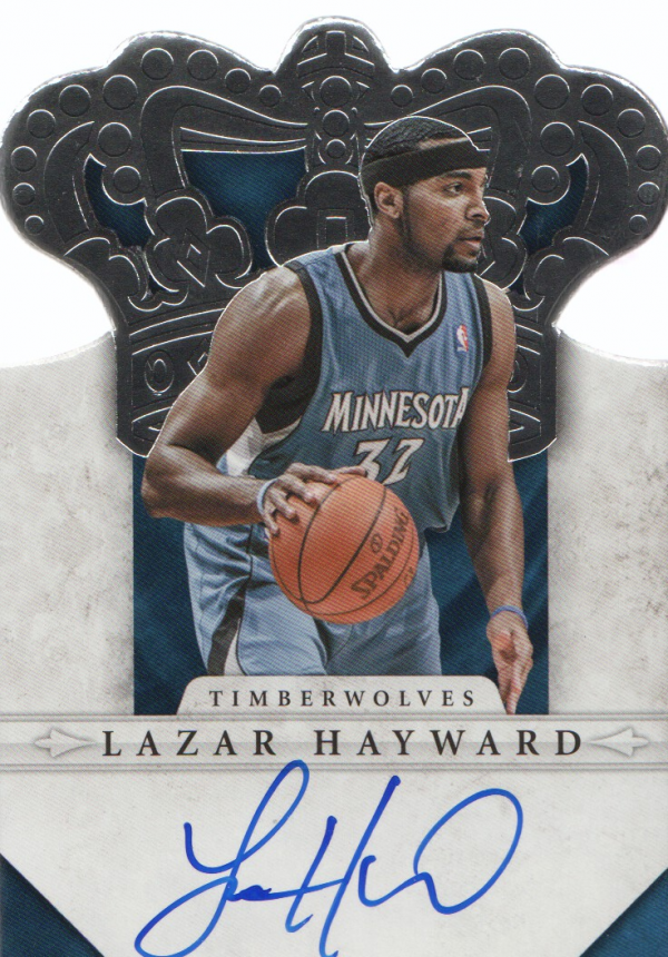 2011-12 Panini Preferred #277 Lazar Hayward CR/99 AU