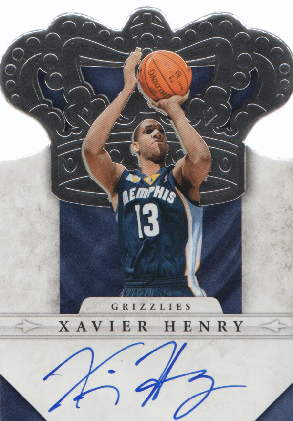 2011-12 Panini Preferred #278 Xavier Henry CR/99 AU