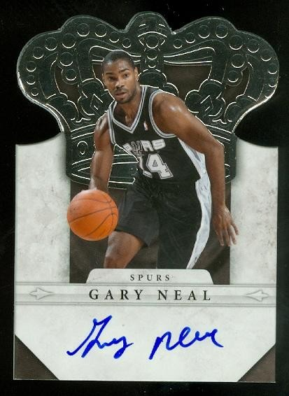 2011-12 Panini Preferred #284 Gary Neal CR/99 AU