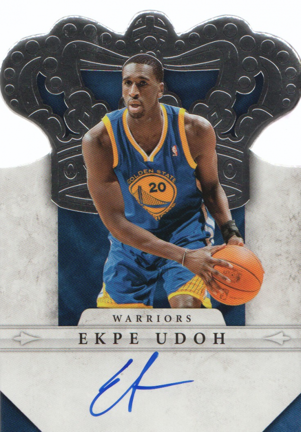 2011-12 Panini Preferred #287 Ekpe Udoh CR/98 AU