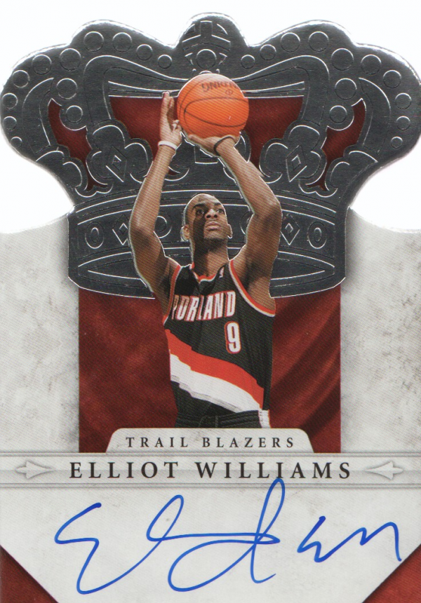 2011-12 Panini Preferred #290 Elliot Williams CR/99 AU