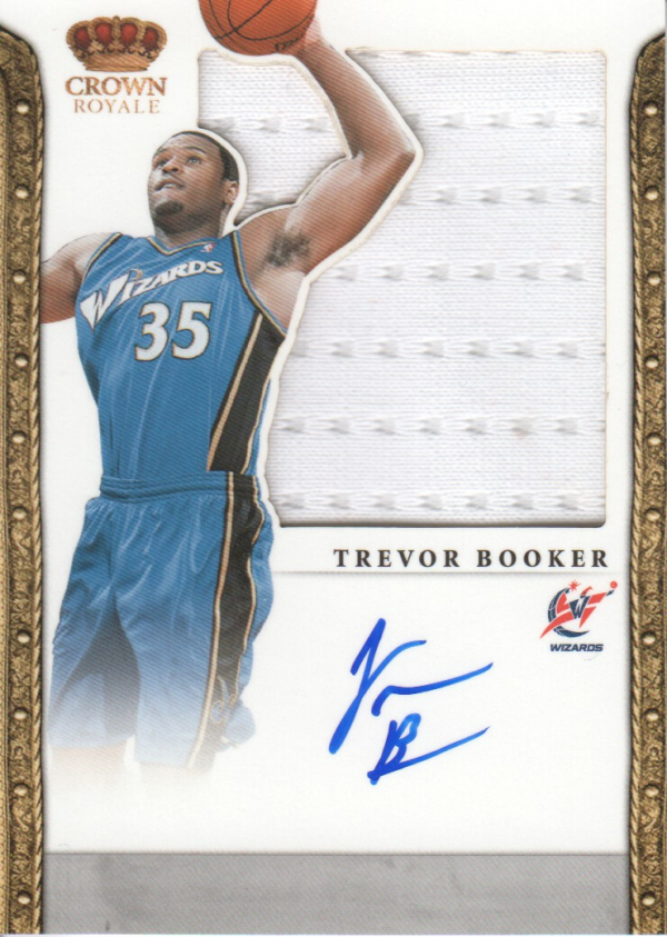2011-12 Panini Preferred #326 Trevor Booker SL/99 JSY AU