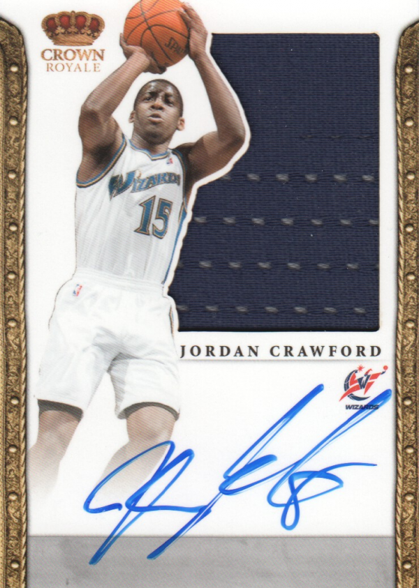 2011-12 Panini Preferred #330 Jordan Crawford SL/99 JSY AU