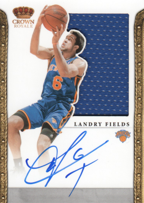 2011-12 Panini Preferred #333 Landry Fields SL/99 JSY AU