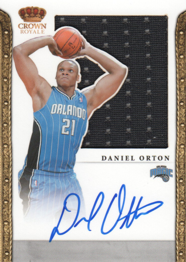 2011-12 Panini Preferred #341 Daniel Orton SL/99 JSY AU