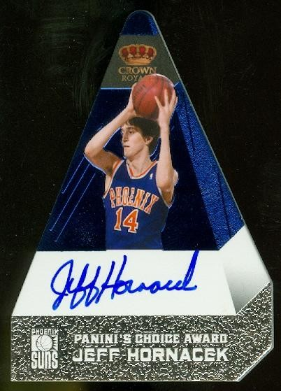 2011-12 Panini Preferred Blue #158 Jeff Hornacek PC/50 AU