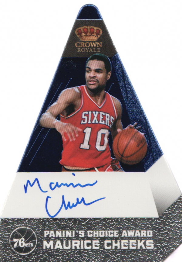 2011-12 Panini Preferred Blue #173 Maurice Cheeks PC/50 AU