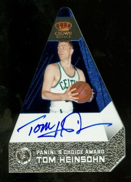 2011-12 Panini Preferred Blue #192 Tom Heinsohn PC/35 AU