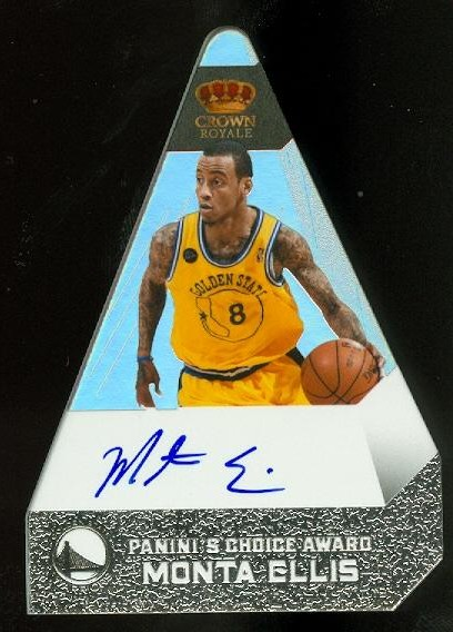 2011-12 Panini Preferred Silver #176 Monta Ellis PC/20 AU